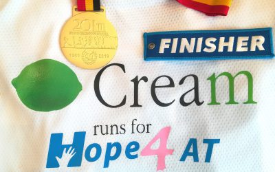 Cream runs for Hope4AT