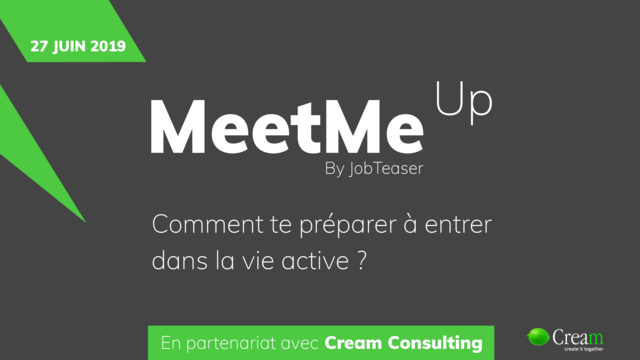 Meet Me Up with Jobteaser – Day-1month