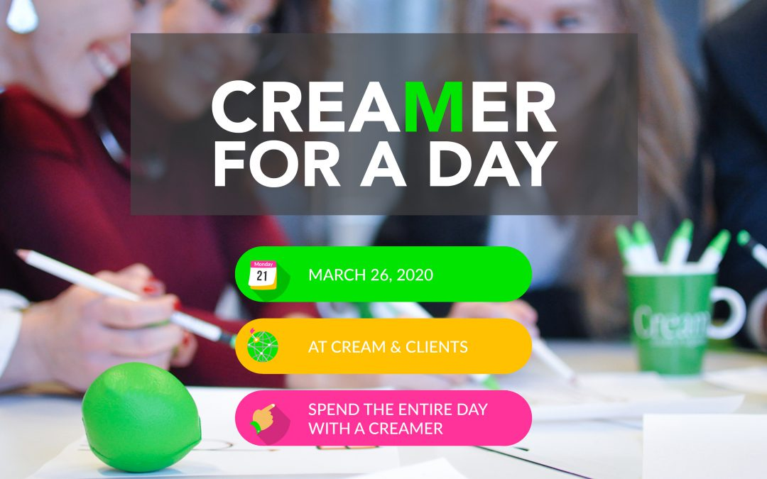 """CREAMER FOR A DAY"" CONTEST"