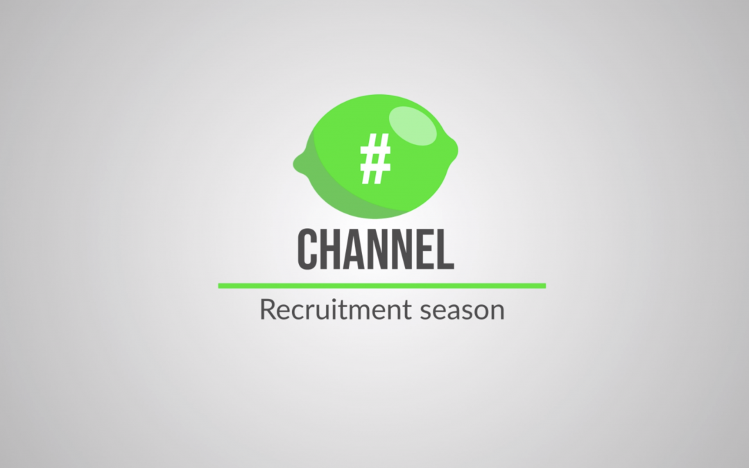 #🍋channel – Recruitment Season