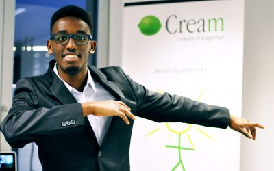 My first steps at Cream – Audry Gakiko