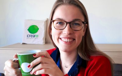 Mélanie, new Cream Mentor