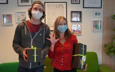 Happy 5, Carol and Nicolas!
